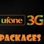 All Ufone 3G Latest Unlimited Internet packages 2018-Hourly, Daily, 3 day, weekly and monthly