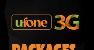 All Ufone 3G Latest Unlimited Internet packages