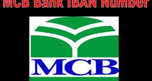 MCB Bank IBAN Number