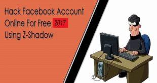 Z Shadow Hacker - How To Hack Facebook, twitter, Gmail Accounts 2017 Working method