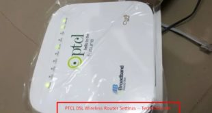 PTCL DSL Wireless Router Settings