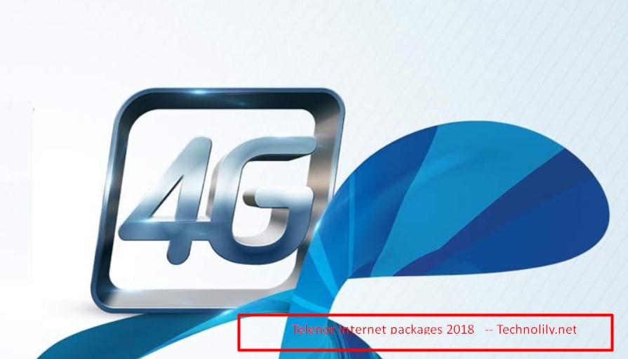 Telenor internet packages 2018