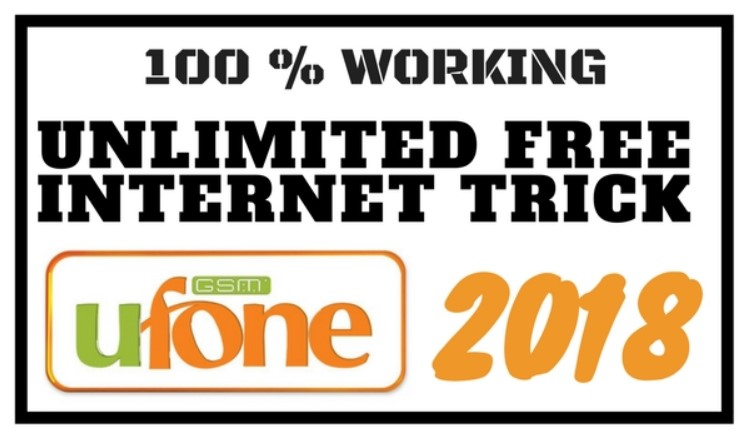 Ufone free internet code 2019 Trick - Ufone Free unlimited