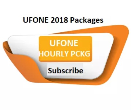 Ufone All Hourly Call Packages 2018