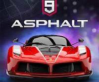 Asphalt 9 legends hacked Moded Apk 2018