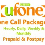 Ufone Call Packages 2018 – Hourly, Daily, Weekly & Monthly – Prepaid