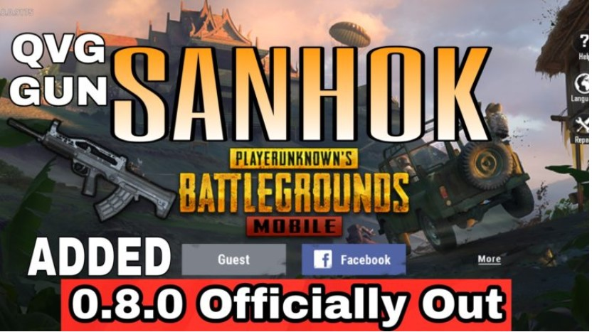 PUBG SANHOK MAP 0.8.0 ANDROID/IOS Free Download