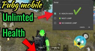 PUBG Mobile Health Hack