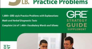 Download 5 LB. Book of GRE Practice Problems PDF Free