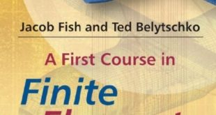 Download A First Course in Finite Elements 1st Edition PDF Free