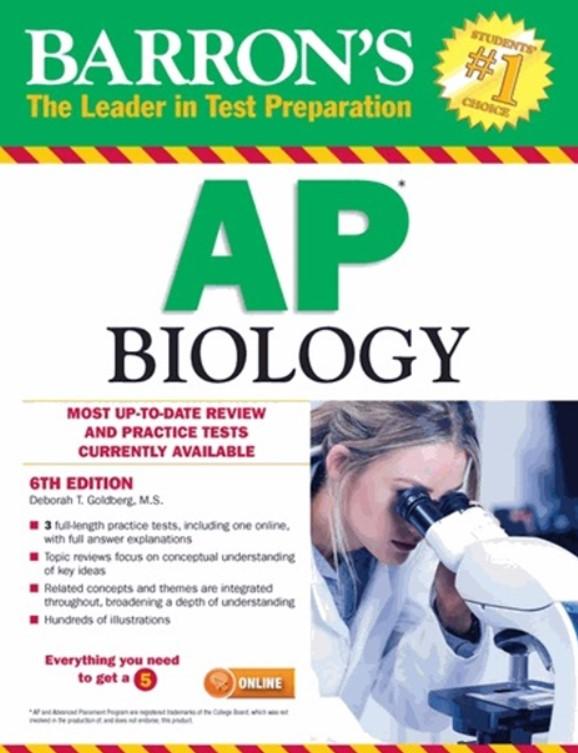 Download Barron's AP Biology 6th Edition PDF Free