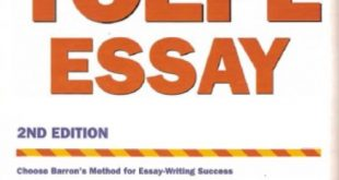 Download Barron's How To Prepare For The TOEFL Essay PDF Free