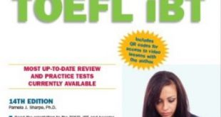 Download Barron's TOEFL iBT 14th Edition PDF Free