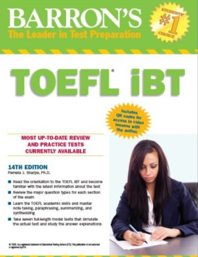 Download Barron's TOEFL iBT 14th Edition PDF Free