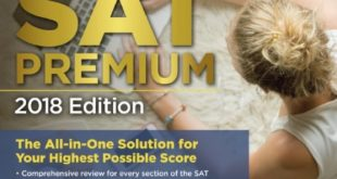 Download Cracking the SAT Premium Edition with 7 Practice Tests, 2018: The All-in-One Solution for Your Highest Possible Score PDF Free