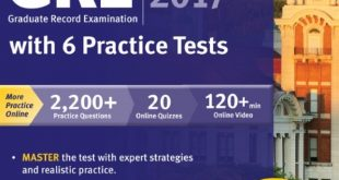 Download GRE Premier 2017 with 6 Practice Tests PDF Free