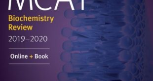 Download MCAT Biochemistry Review 2019-2020 Online + Book PDF Free
