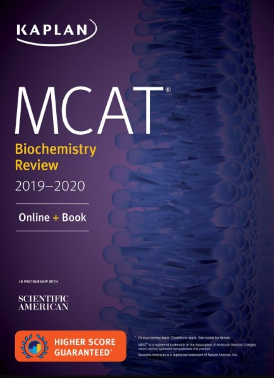 Download MCAT Biochemistry Review 2019-2020 Online + Book PDF Free