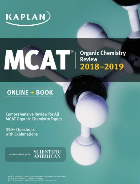 Download MCAT Organic Chemistry Review 2018-2019 PDF Free