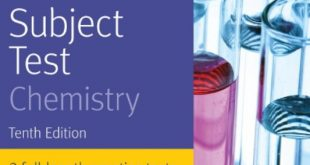 Download SAT Subject Test Chemistry 10th Edition PDF Free