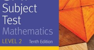 Download SAT Subject Test Mathematics Level 2, 10th Edition PDF Free