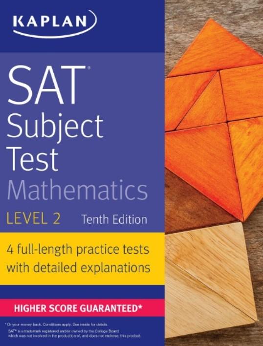 Download SAT Subject Test Mathematics Level 2, 10th Edition PDF Free