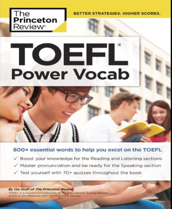 Download TOEFL Power Vocab: 800+ Essential Words to Help You Excel on the TOEFL PDF Free