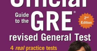 Download The Official Guide to the GRE Revised General Test 2nd Edition PDF Free