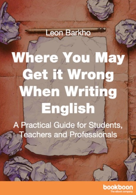 Download Where You May Get it Wrong When Writing English PDF Free