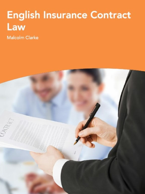 Download English Insurance Contract Law PDF Free