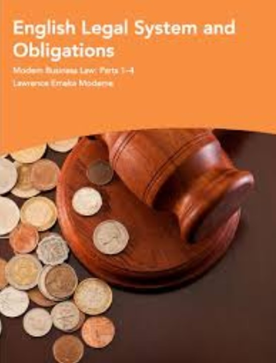 Download English Legal System and Obligations PDF Free