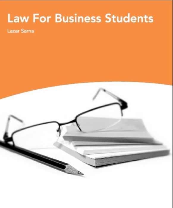 Download Law For Business Students PDF Free