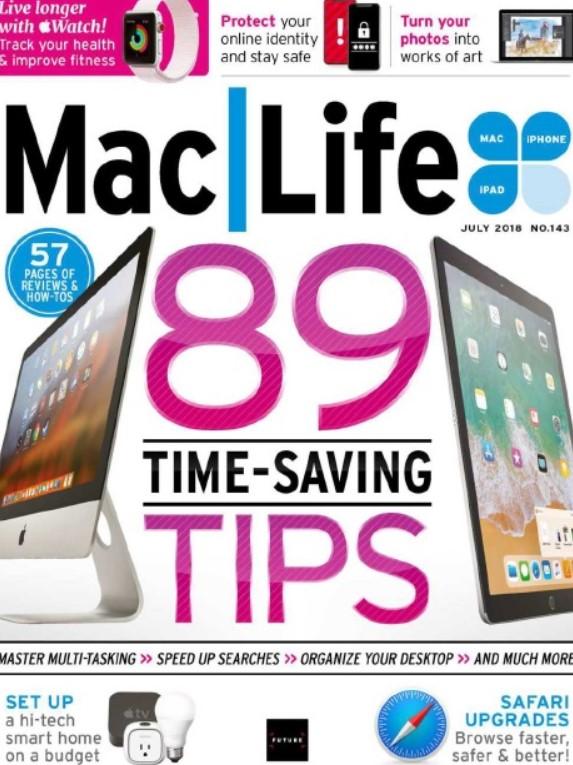 Download Mac Life July 2018 PDF Free