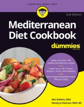 Download Mediterranean Diet Cookbook for Dummies PDF Free