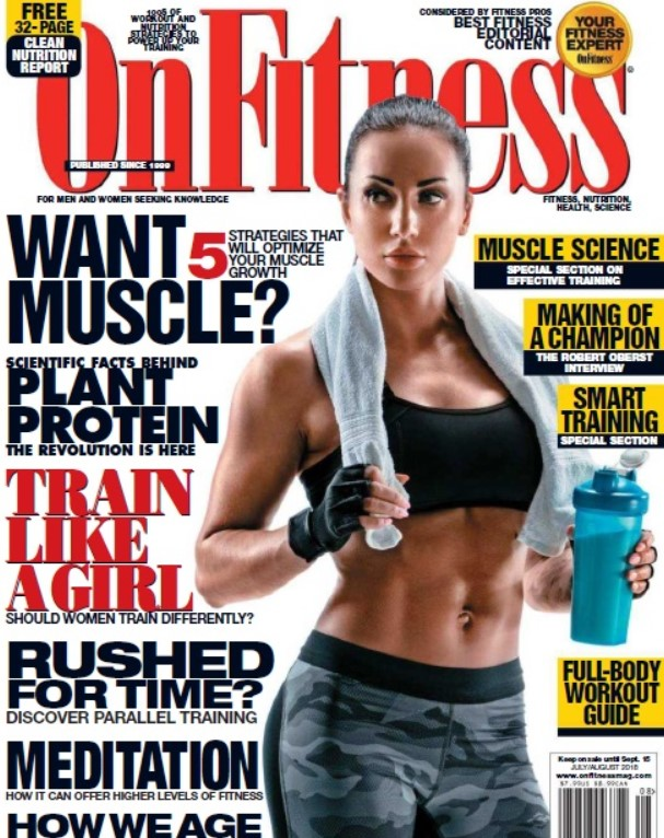 Download OnFitness – August 2018 USA PDF Free