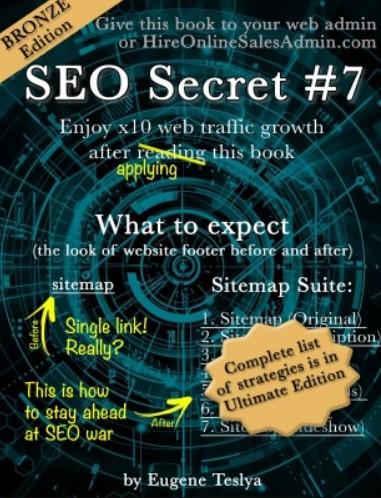 Download SEO Secret #7 (Bronze Edition) PDF Free