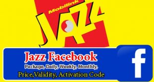 Facebook Packages, Daily, Weekly, Monthly, Price, Validity, Activation Code 2020
